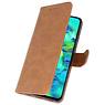 Bookstyle Wallet Cases Hülle für Samsung Galaxy M40 Brown