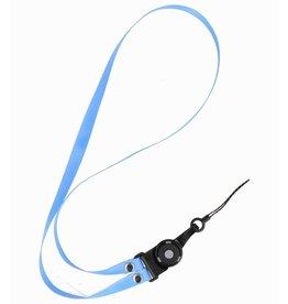 CSC Touwtjes voor Telefoon Hoesjes, Fluitje of Badge Blauw