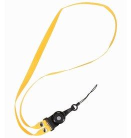 CSC Touwtjes voor Telefoon Hoesjes, Fluitje of Badge Geel