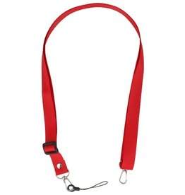 Schouder / Nek Touwtjes voor Hoesjes of Badge Rood