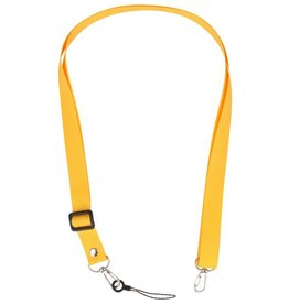 Schulter- / Nackenseile für Etuis oder Abzeichen Gelb