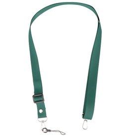 Schulter- / Nackenseile für Koffer oder Abzeichen Dunkelgrün