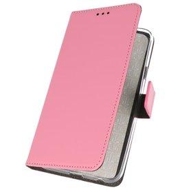 Wallet Cases Hülle für Samsung Galaxy A10s Pink