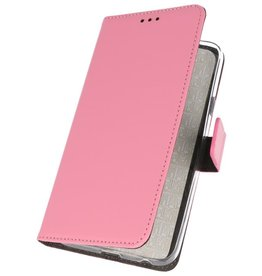 Wallet Cases Hoesje voor Samsung Galaxy A50s Roze