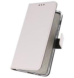 Wallet Cases Hoesje voor Samsung Galaxy A70s Wit