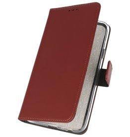 Wallet Cases Hülle für Samsung Galaxy A70s Braun