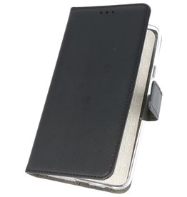 Wallet Cases Hülle für Samsung Galaxy Note 10 Plus Schwarz
