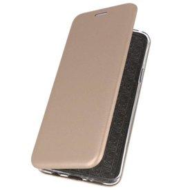 Slim Folio Case voor Samsung Galaxy A10s Goud