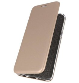 Slim Folio Case voor Samsung Galaxy A50s Goud
