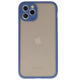 Kleurcombinatie Hard Case voor iPhone 11 Pro Blauw