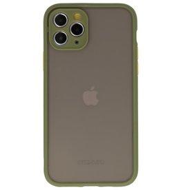 Kleurcombinatie Hard Case voor iPhone 11 Pro Groen