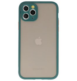 Color combination Hard Case for iPhone 11 Pro Dark Green