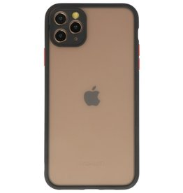 Color combination Hard Case for iPhone 11 Pro Max Black