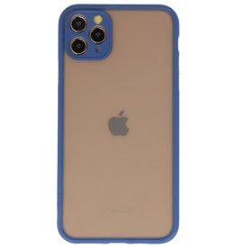 Kleurcombinatie Hard Case voor iPhone 11 Pro Max Blauw