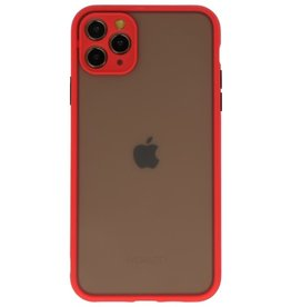 Color combination Hard Case for iPhone 11 Pro Max Red