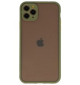Color combination Hard Case for iPhone 11 Pro Max Green