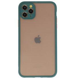 Kleurcombinatie Hard Case voor iPhone 11 Pro Max D. Groen