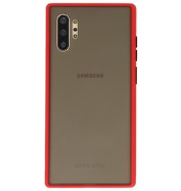 Color combination Hard Case for Galaxy Note 10 Plus Red