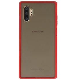 Kleurcombinatie Hard Case voor Galaxy Note 10 Plus Rood