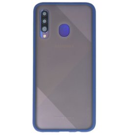 Color combination Hard Case for Galaxy A50 Blue