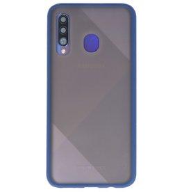 Kleurcombinatie Hard Case voor Galaxy A50 Blauw