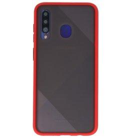 Kleurcombinatie Hard Case voor Galaxy A50 Rood