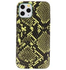 Snake Design TPU Hülle für iPhone 11 Pro Dunkelgrün