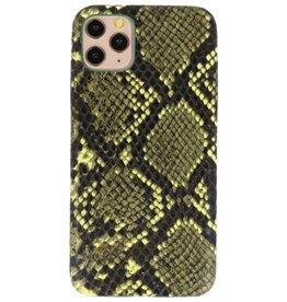 Snake Design TPU Hülle iPhone 11 Pro Max Dunkelgrün