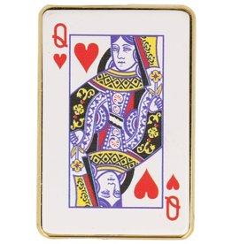 Kaarten Elektrisch oplaadbaar aansteker Harten Koningin