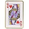 Karten Elektrisch wiederaufladbares Feuerzeug Hearts Queen