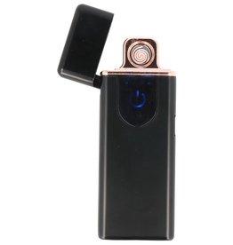 Touchscreen Elektrisch aufladbares Feuerzeug Schwarz