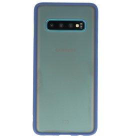 Kleurcombinatie Hard Case voor Galaxy S10 Blauw