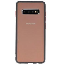 Kleurcombinatie Hard Case voor Galaxy S10 Plus Zwart