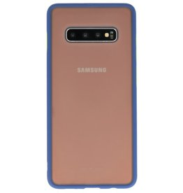 Color combination Hard Case for Galaxy S10 Plus Blue