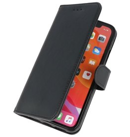 Bookstyle Wallet Cases Cover für iPhone 11 Pro Max Schwarz