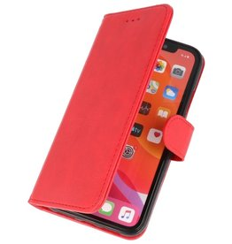 Bookstyle Wallet Cases Cover for iPhone 11 Pro Max Red
