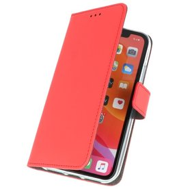 Wallet Cases Hoesje voor iPhone 11 Rood