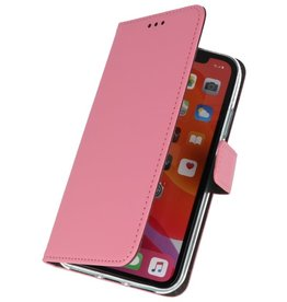 Wallet Cases Hülle für iPhone 11 Pro Pink
