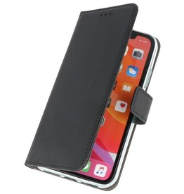Wallet Cases Hoesje voor iPhone 11 Pro Max Zwart