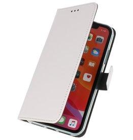 Wallet Cases Hoesje voor iPhone 11 Pro Max Wit