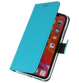 Wallet Cases Hoesje voor iPhone 11 Pro Max Blauw