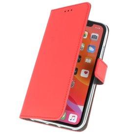 Wallet Cases Hoesje voor iPhone 11 Pro Max Rood