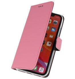 Wallet Cases Hoesje voor iPhone 11 Pro Max Roze