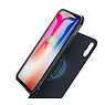 Battery Power Bank + Back Case for iPhone Xs Max Blue
