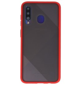 Color combination Hard Case for Samsung Galaxy A20s Red