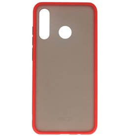 Color combination Hard Case for Huawei P30 Lite Red