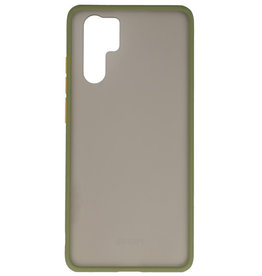 Color combination Hard Case for Huawei P30 Pro Green