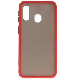 Color combination Hard Case for Samsung Galaxy A20e Red