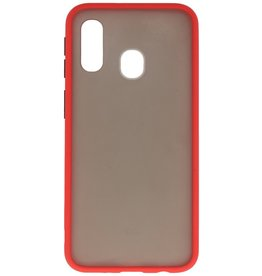 Color combination Hard Case for Samsung Galaxy A40 Red