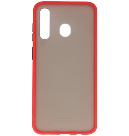 Color combination Hard Case for Samsung Galaxy A30 Red